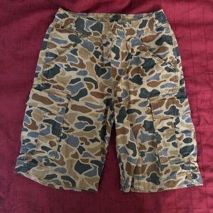 4 for $25 Gap Camo Boy Cargo Shorts XXL 14-16